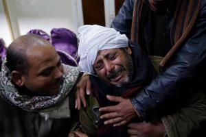 Grief- striken families