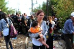 Mother and child: Greece-Macedonia border
