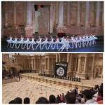 Palmyra then and now