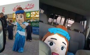Puppet under arrest