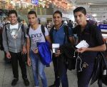 The Coptic teenagers in Switzerland
